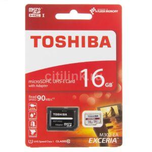 microSDHC UHS-I U1 TOSHIBA M302 16GB