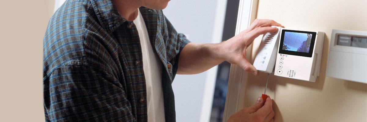 Установка видеодомофона на объекте, в квартире и доме