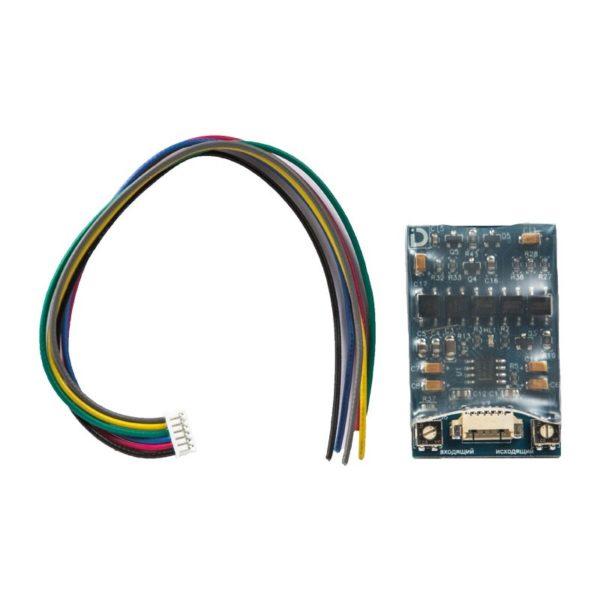 Модуль сопряжения МСК СЛИМ с гальванической развязкой Даксис
