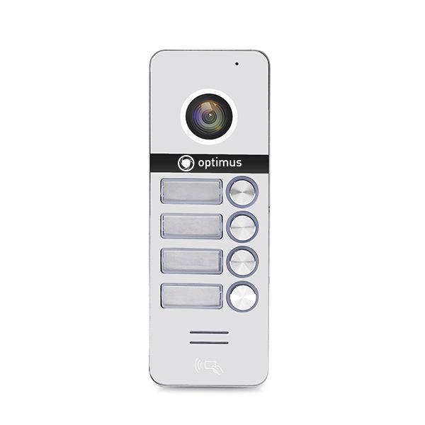 Вызывная панель видеодомофона Optimus DSH-1080/4