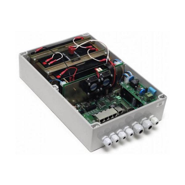 POE коммутатор TFortis PSW-1G4F-UPS
