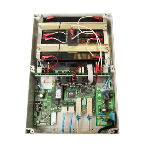 POE коммутатор TFortis PSW-2G2F+UPS