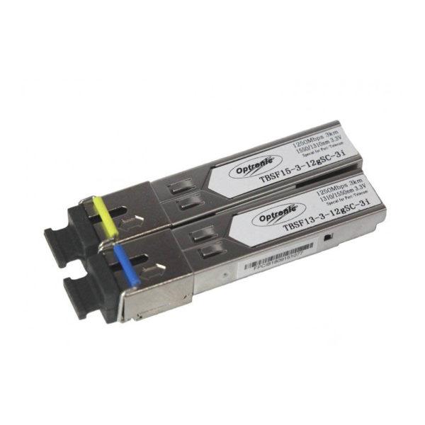 SFP-модуль TBSF-13-3-12gSC-3i 1310/TBSF-13-3-12gSC-3i 1550