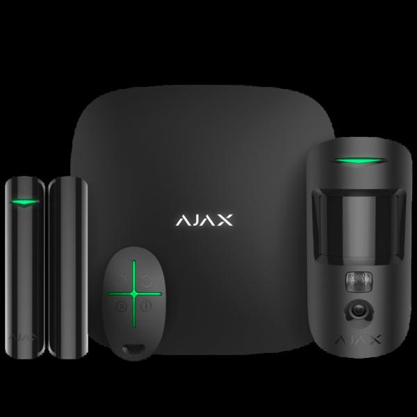 Комплект беспроводной смарт-сигнализации Ajax StarterKit Cam