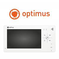 Новые видеодомофоны Optimus VM-4.0 и VM-7.0