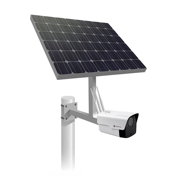 Комплект автономного видеонаблюдения на солнечных батареях