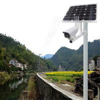 Комплект автономного видеонаблюдения на солнечных батареях!